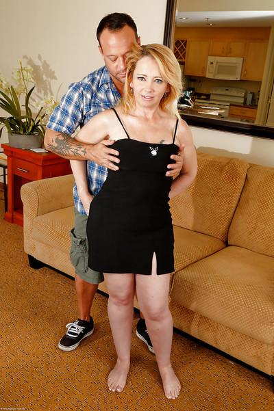 Hardcore mature Brandie Sweet was drilled deep in her pussy!