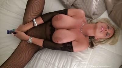 Masturbating action from a big tits mature housewife Sandra Otterson