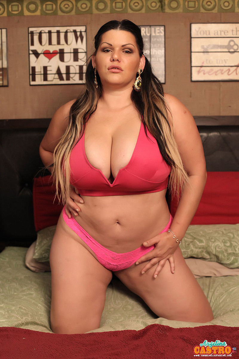 Angelina castro is red hot in lingerie