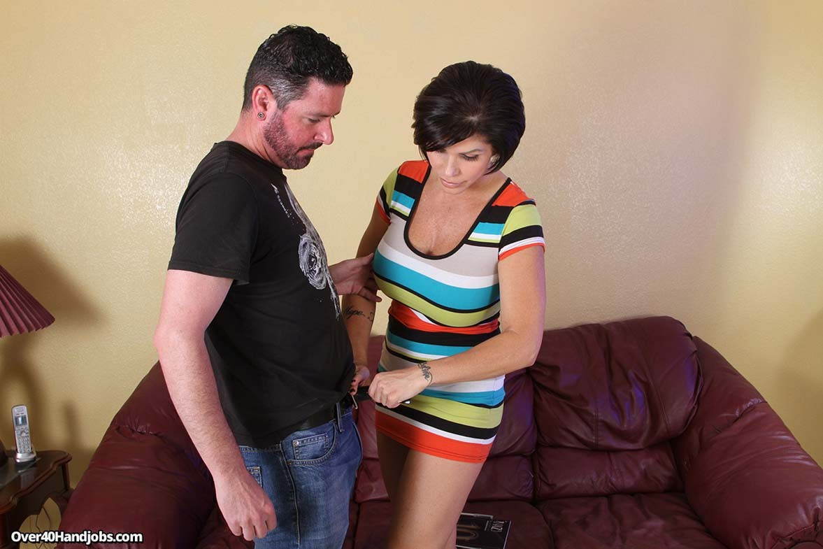 Busty sexy shay fox playing with stiff dick