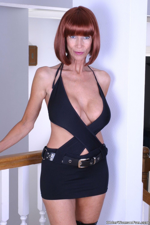 Kinky grandma marylin has massive boobs