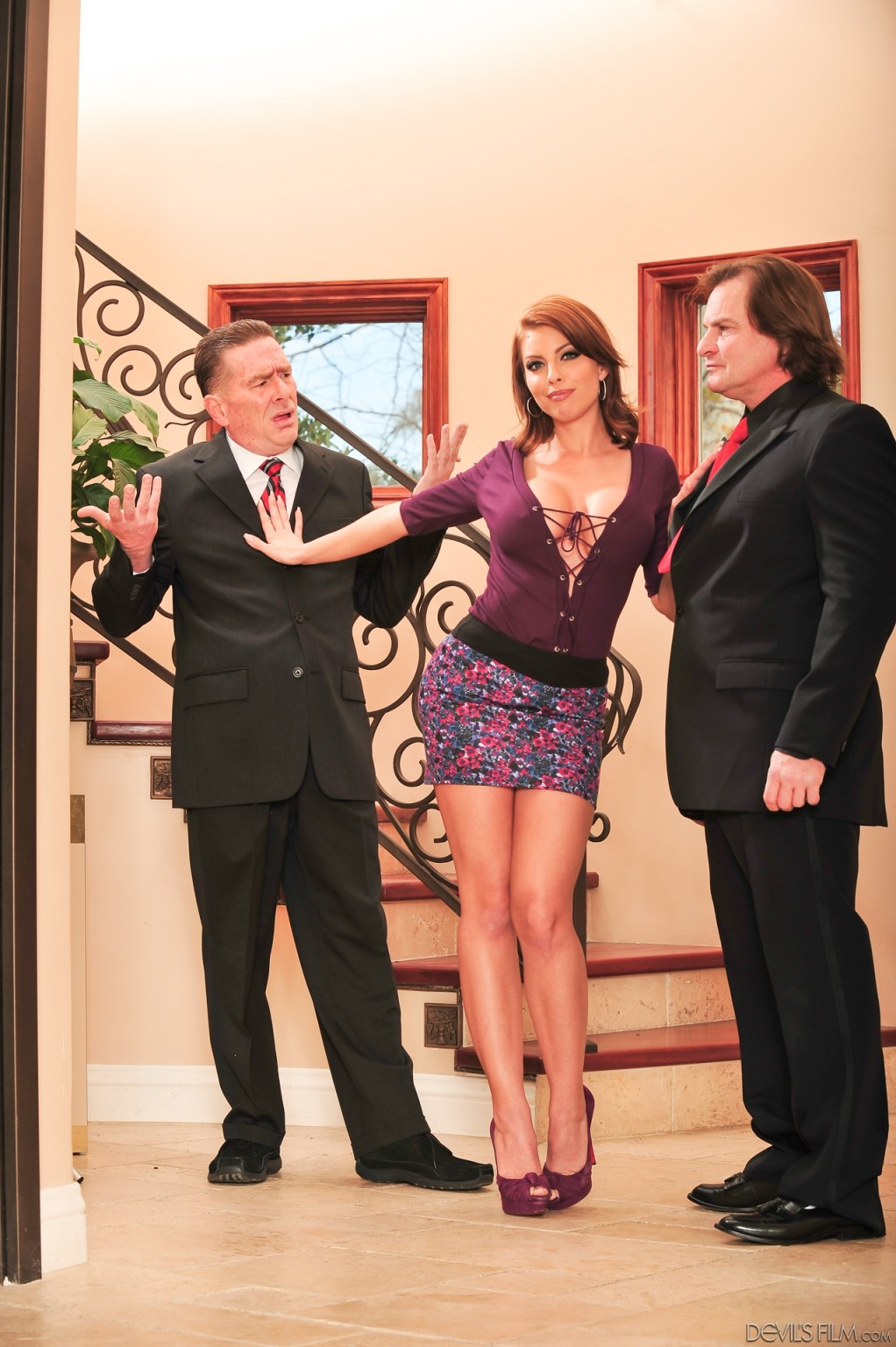 Britney amber and evan stone seduced by the boss wife
