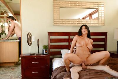 Sizzling big-breasted Romi Rain has crazy love scene with youngster