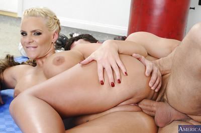 Phoenix Marie is one hot MILF that is ready to suck cock all day long