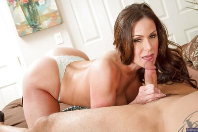 Milf Kendra Lust was fucked hard by her husband in shaved pussy