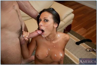 Milf tits hard core sex scene with luscious ho Rachel Starr
