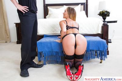 Blue eyed pornstar wife Destiny Dixon is a horny MILF that craves dick