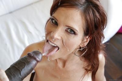 Hardcore Interracial sex scene with a big tits milf Syren De Mer