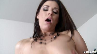 Sweet milf India Summer fucks with giant interracial wiener!
