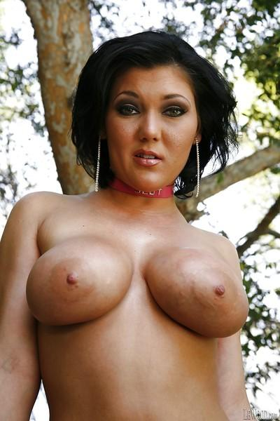 Fatty milg Claire shows her huge boobs and that tattooed pussy