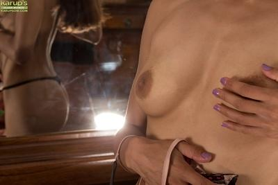 Beautiful brunette Chelsea French is demonstrating her stunning tits