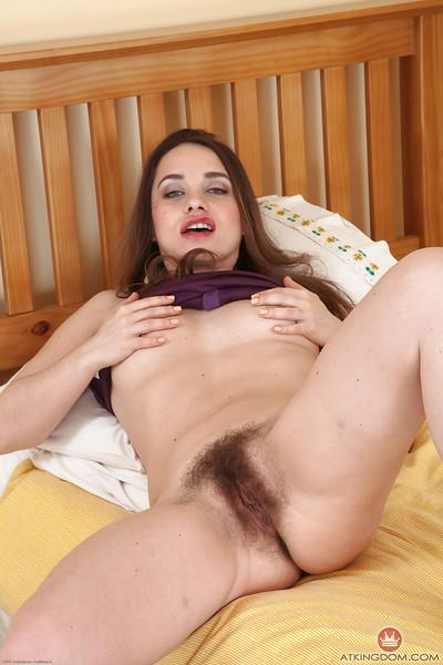 Euro mom Olga Cabaeva showing off white panties and pubic hairs
