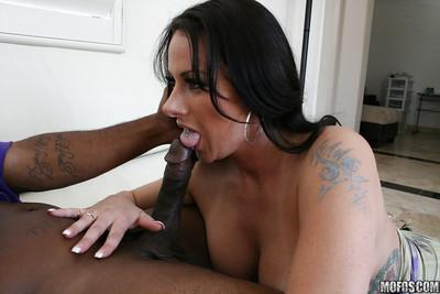 MILF Moxxie Maddron enjoys getting her pussy fingered and fucked hard