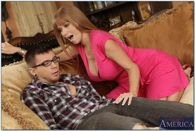 Redheaded MILF Darla Crane gets her wet cunt stuffed with pulsing meat