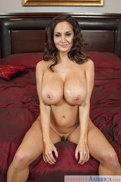 European milf Ava Addams is banging in her face after workout