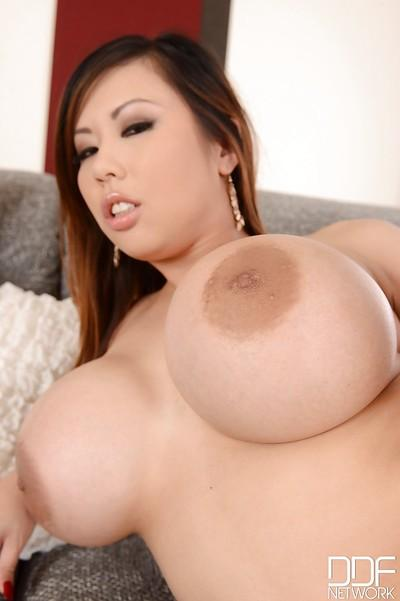 Masturbating scene with big tits girl Tigerr Benson showing off