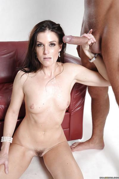 MILF wife with tiny tits India Summer has hardcore anal sex