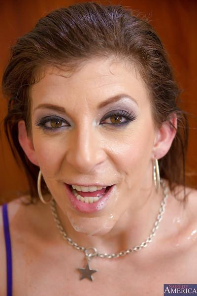Goodly milf Sara Jay gets drilled like a whore right in her office