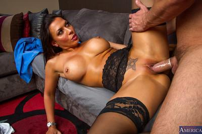 Big tit and ass brunette Rachel is a hardcore dick riding bitch