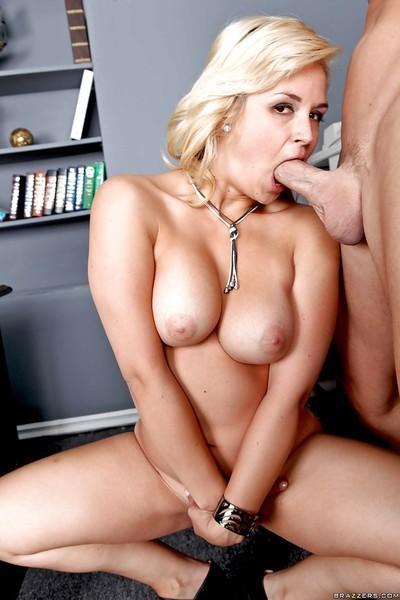 Unbreakable mlf Sarah Vandella acts like personal sex consort