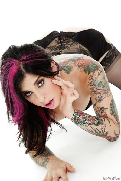 Witty and smart amateur milf Joanna Angel fishes for mackerel