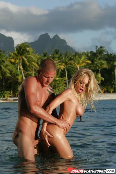 Jesse Jane was fucked pretty hard in her stunning juicy pussy