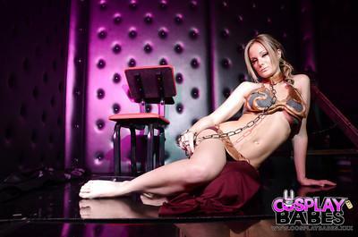 Astonishing chick Elizabeth Bally is showing us her stunning shape