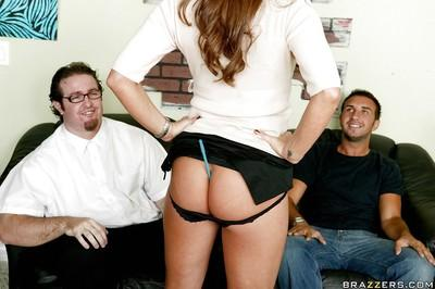 Slutty MILF Sky Taylor has her ass ready for hardcore anal sex
