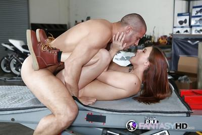 Hardcore milf Karlie Montana gets fucked in her small cute vagina