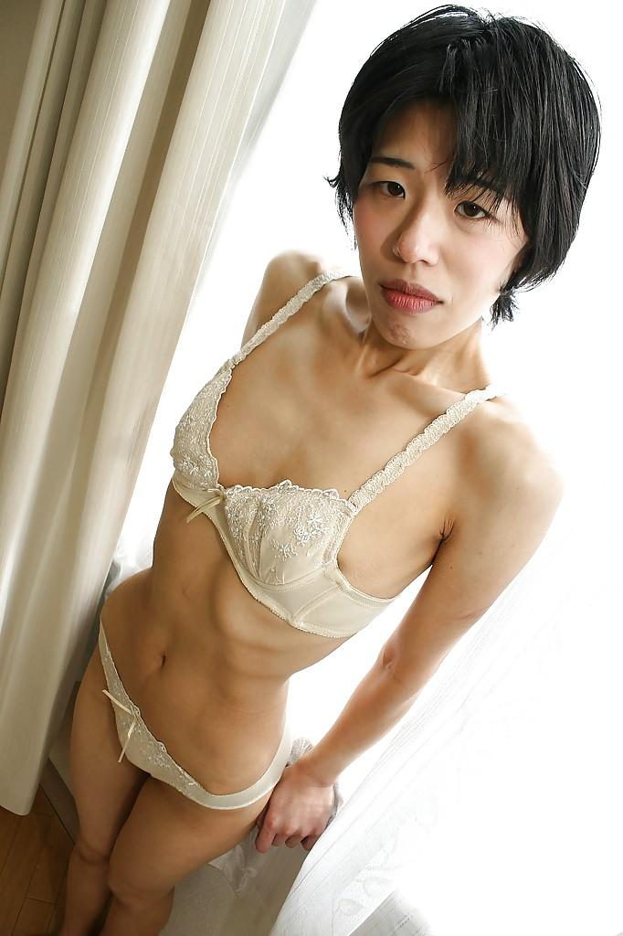 milf Skinny pussy asian
