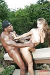Outdoor hardcore interracial bj and anal sex with Euro MILF Rita Faltoyano