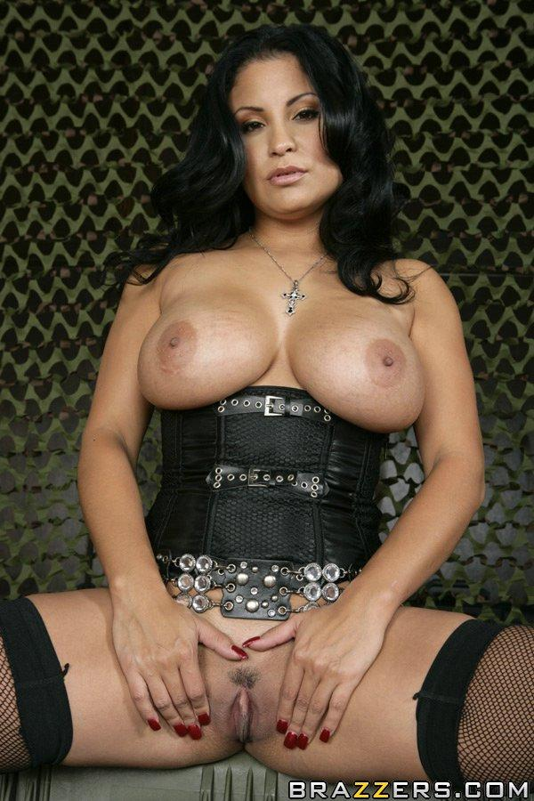 Busty latina playing in a field has wild sensual sex 10