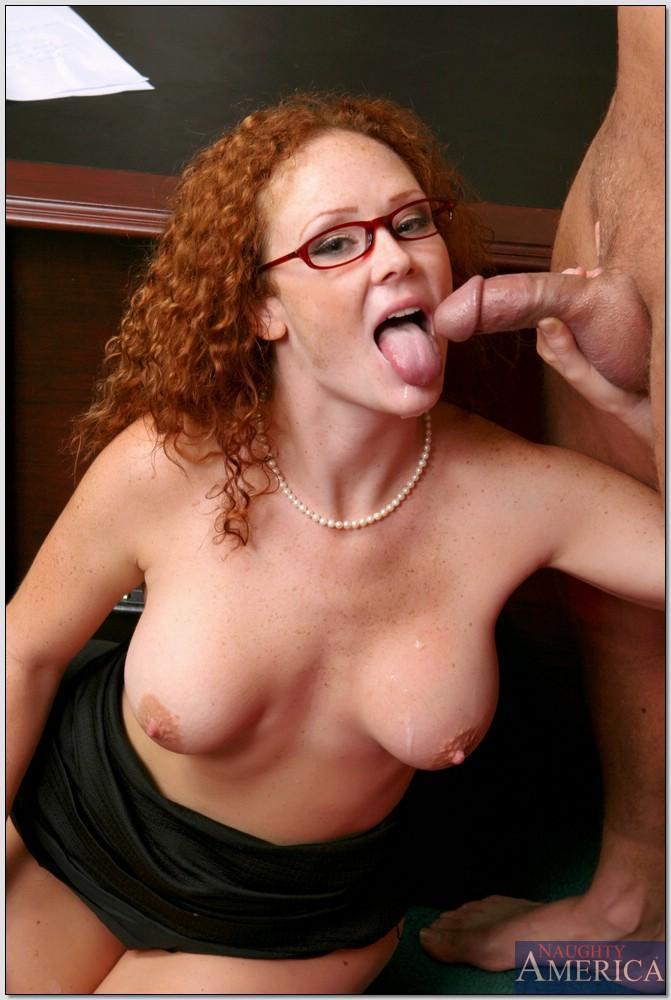 Milfs audrey hollander redhead