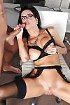 Latina cock sucking pro wearing glasses Veronica Avluv in action