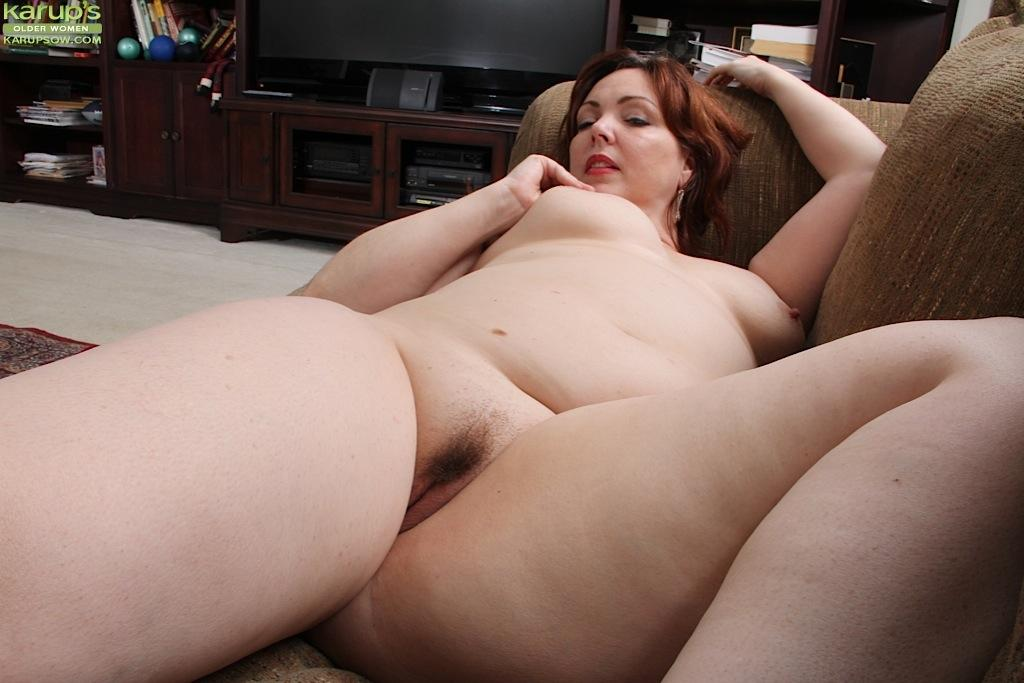 Redhead cougar toying with her prey - 2 6
