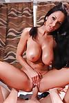 Hardcore ass fucking action features a big tits Latina milf Ava Addams