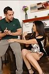 Ravishing latina MILF gets her trimmed pussy nailed hardcore