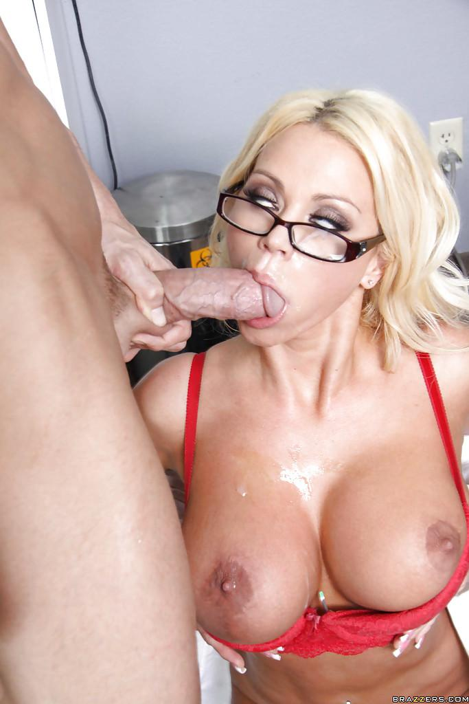 image Shyla stylez sucks cock and gets her pussy fucked and tits creamed