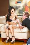 Hardcore Asian milf Asa Akira is getting sperm in her wide mouth