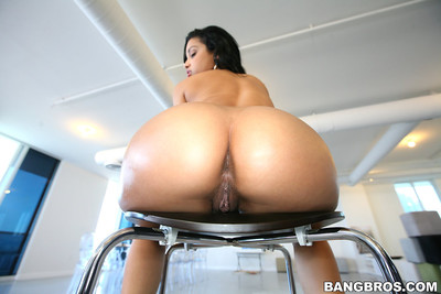 Abella anderson benefits from dual cocks