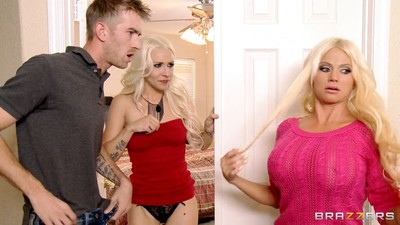Nikita von james in a kinky threeway