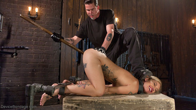 Kleio valentien is no stranger to dominance and submission, but this is her firs