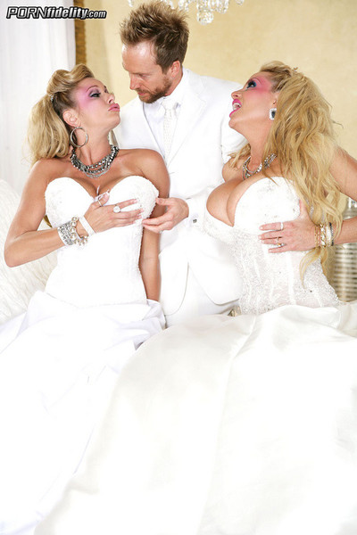 Kelly madison, ryan madison and briana banks
