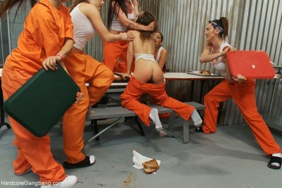 All pretty revenge gangbang!! the cholas are back as a member of a rival east l.a.