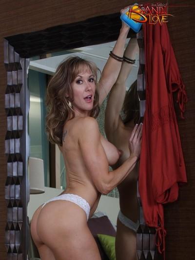 Brandi love stripping