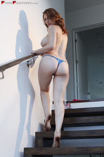 Lillith has slimy soles and strips on the stairs