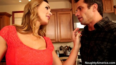 Tanya tate is a cougar on the chase for dude meat
