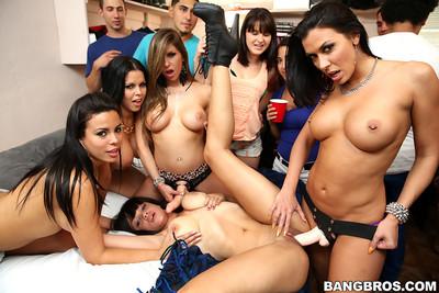 Bangbros pornstars college fuck-fest 2013