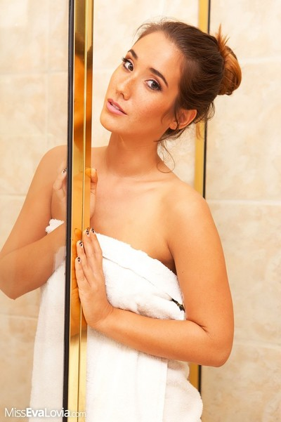 Masturbating in baths