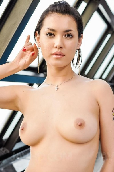 Maria ozawa licks cock has hairy pussy explored and love melons sucked